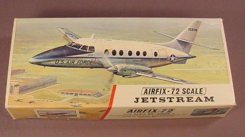 Airfix Handley Pace Jetstream Aircraft 1/72 Scale Model Kit #03012-2