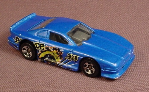 Hot Wheels 1997 Mustang Cobra, Metallic Blue, 2000 Speed Blaster Series #039