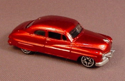 Motor Max Red 1949 Mercury Coupe Cast Metal Car 6075 2 7 8 Inches Long Rons Rescued Treasures