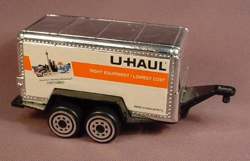 U-haul trailer  How to return a U  2019-08-22