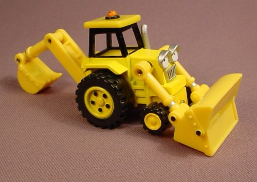 Bob The Builder Scoop Vehicle, Die Cast Metal, Diecast, 4 Inches Long, 2004 Learning Curve