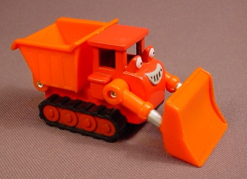 Bob The Builder Muck Vehicle, Die Cast Metal, Diecast, 3 3/8 Inches Long, 2004 Learning Curve