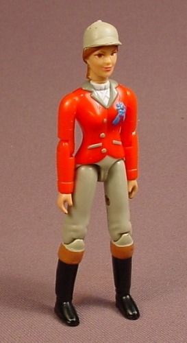 WOW Action Girls Wow Power Equestrian Rider Abby Action Figure, 3 7/8 Inches Tall, The Achievers Set