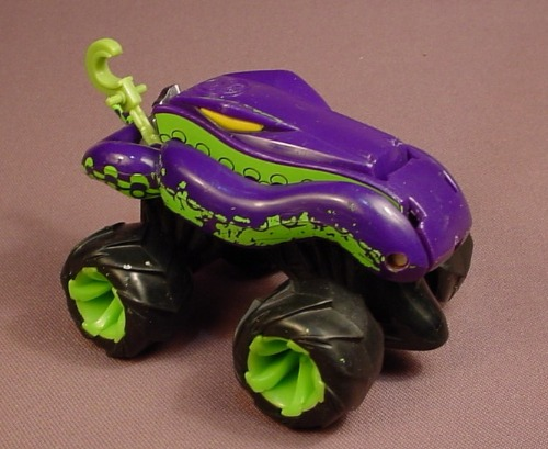 Attack Pack King Hiss, Last Edition, 4 1/4 Inches Long, Hot Wheels, 1993 Mattel