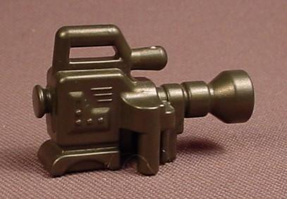 Playmobil Black Portable TV Video Camera, 3090 3847 4172 4423 4717 5273 5415 5561 6938 9958