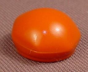 Playmobil Dark Orange Brown Child Size Soft Hat Or Beret With 7 Sides, 3939, 30 21 8590
