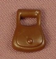 Playmobil Dark Brown Pouch Or Bag With A Handle, Attaches To A Belt, 4615, 30 23 5070