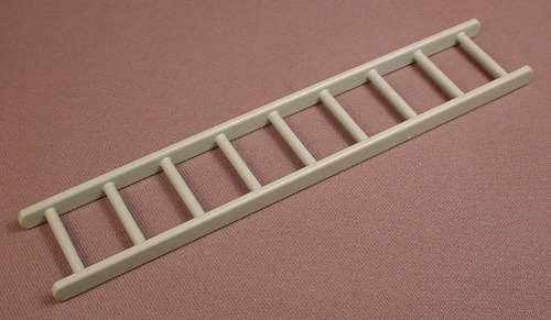 Playmobil 9 Rung Ladder, 7 Inches Long, Grey, 3262 4080 4470 7475, 30 24 0560