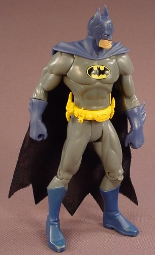 Batman Action Figure, 6 1/4 Inches Tall, Toys Of Steel Series, Came In A 2 Pack Set With Superman