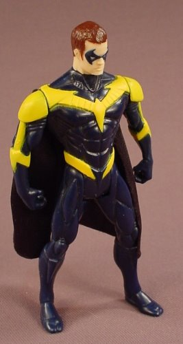 Batman Robin Action Figure With A Cloth Cape, 4 5/8 Inches Tall, Originally Came With The Redbird