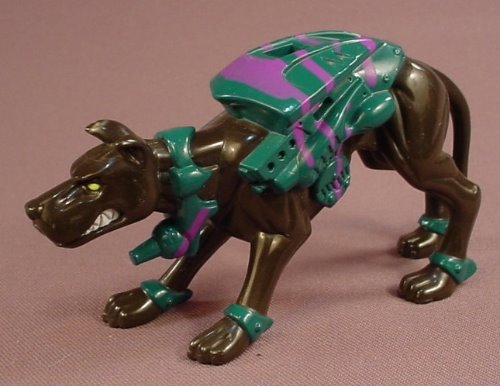 Batman Beyond Neon-Camo Combat Ready Canine Dog Figure, Kenner, 1998 Hasbro