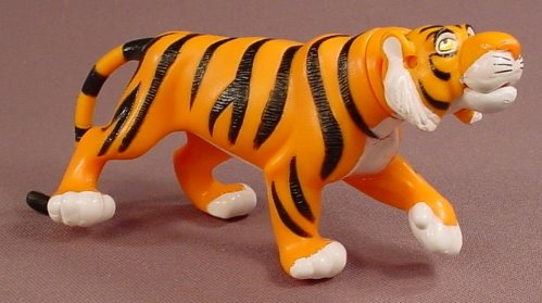 Disney Aladdin Rajah The Tiger Action Figure, 5 3/4 Inches Long, The Tail Moves, Head Swivels