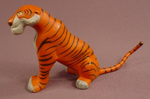 Disney Aladdin Rajah The Tiger PVC Figure, 2 3/8 Inches Tall, Applause, Figurine