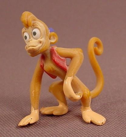 Disney Aladdin Abu The Monkey PVC Figure, 1 3/4 Inches Tall, Figurine