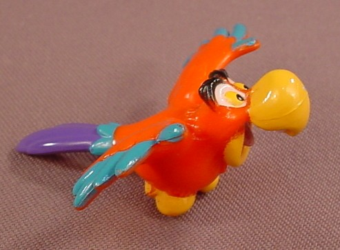 Disney Aladdin Iago Parrot PVC Figure, 2 1/2 Inches Long, Figurine