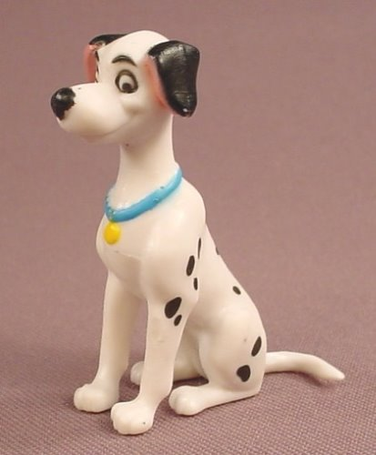 Disney 101 Dalmatians Perdita Mother In A Sitting Pose PVC Figure, 2 1/8 Inches Tall, Figurine