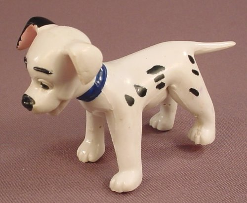Disney 101 Dalmatians Patch Bendy Or Bendable Figure, 2 1/2 Inches Tall, Pax Mfg Co