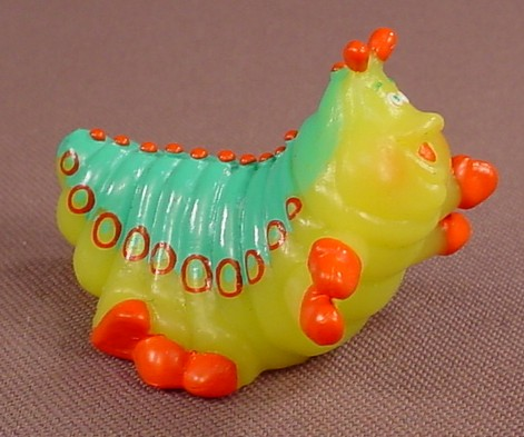 Disney A Bug's Life Heimlich Caterpillar PVC Figure, 2 Inches Long, Applause, Bugs Life, Figurine