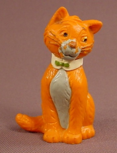 Disney The Aristocats Tom O' Malley Cat PVC Figure, 2 1/4 Inches Tall, Figurine, Thomas Omalley