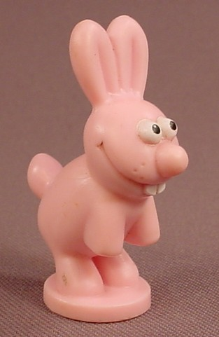 Disney Toy Story Jessie's Crazy Critter Pink Bunny Rabbit PVC Figure On A Base, 2 Inches Tall