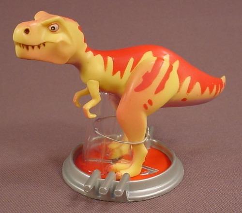 Disney Pixar Meet The Robinsons T-Rex Dinosaur PVC Figure On A Base, 3 Inches Tall, Figurine