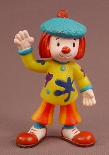 Disney Jo Jo's Circus Jojo Clown PVC Figure, 3 1/8 Inches Tall, Figurine