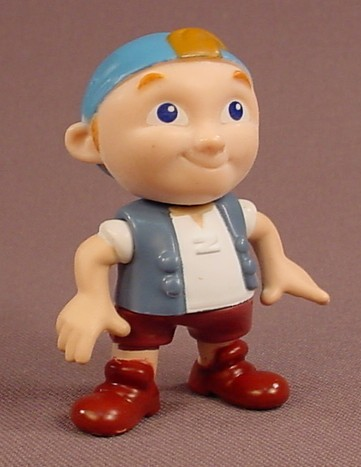 Disney Jake And The Neverland Pirates Cubby PVC Figure, 2 1/4 Inches Tall, The Arms & Legs Move