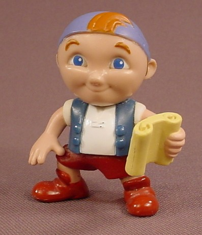 Disney Jake And The Neverland Pirates Cubby Holding A Map PVC Figure, 2 3/8 Inches Tall, Figurine