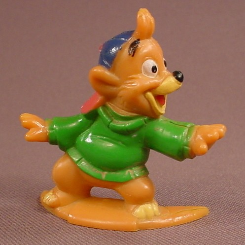 Disney Tale Spin Kit Cloudkicker PVC Figure, 2 Inches Tall, Disney Afternoon Cartoons, 1991 Kellogg