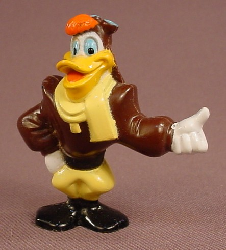 Disney Darkwing Duck Launchpad PVC Figure, 2 Inches Tall, Disney Afternoon Cartoons