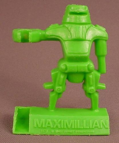 Disney The Black Hole Movie 1979 Green Maximillian Shreddies Cereal Premium, Spoon Sitter