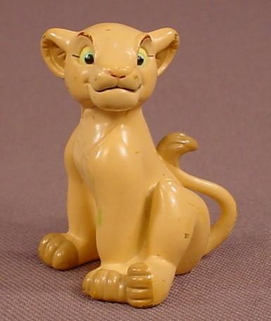 Disney The Lion King Nala Girl Lion Cub Lioness PVC Figure, 1 3/4 Inches Tall, Hasbro, Figurine