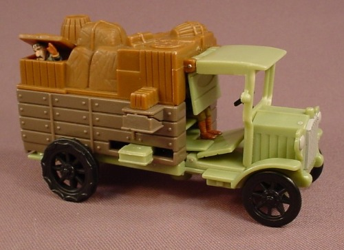Disney Atlantis The Lost Empire Vinny's Tinder Box Truck, 4 5/8 Inches Long, Mattel