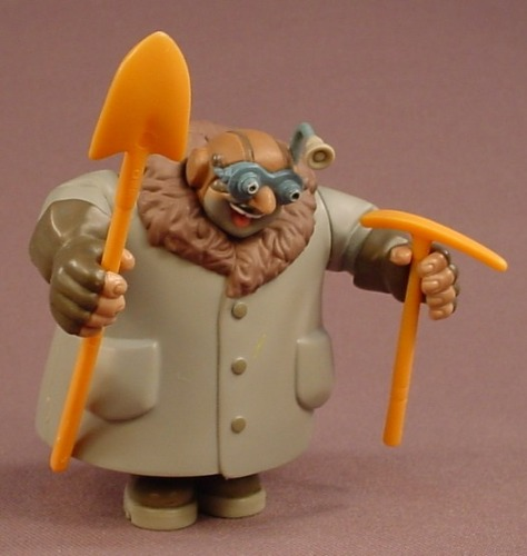 Disney Atlantis The Lost Empire Moliere Figure With 2 Accessories, 3 Inches Tall, 2000 Mattel
