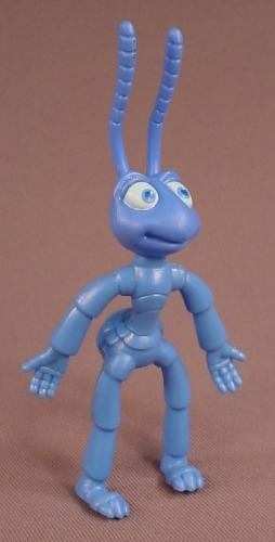 Disney A Bug's Life Flik PVC Figure With Bendy Arms & Legs, 5 Inches Tall, The Head Swivels