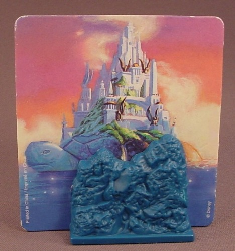 Disney Aladdin Backdrop For An Abu The Monkey On Flying Carpet Figure, 1996 McDonalds