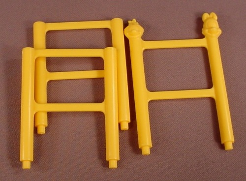Animaniacs Set Of 3 Circus Ladder Sections, 2004 Wendy's Restaurant, Big Cartoonie Show