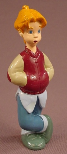 All Dogs Go To Heaven David PVC Figure, 3 1/4 Inches Tall, 1996 Subway Restaurant