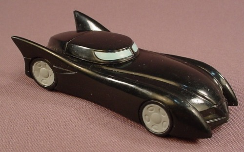Batman Batmobile With A Pull Back Motor, 4 Inches Long, Bakery Crafts
