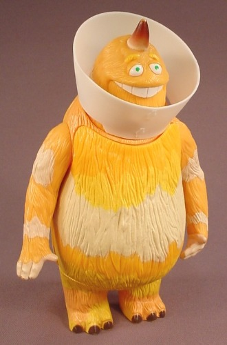 Disney Monsters Inc Top Scarer George Sullivan Talking Figure, 7 1/2 Inches  Tall, 2001 Hasbro
