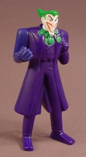 Batman The Brave And The Bold The Joker Water Squirter Figure, 2010 McDonalds