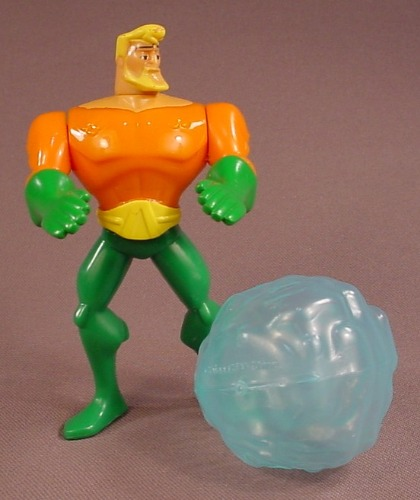 Batman The Brave And The Bold Aquaman Figure, 4 1/8 Inches Tall, 2010 McDonalds