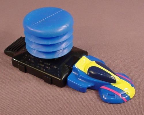 Hot Wheels Blue Mini Streex Car With Launcher, 1992 McDonalds