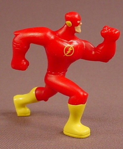 Batman The Brave & The Bold The Flash Figure, 2 1/8 Inches Tall, 2011 McDonalds
