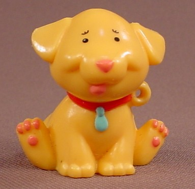 Arthur PBS TV Show Hard Plastic Dog Figure, 1 3/8 Inches Tall, Marc Brown