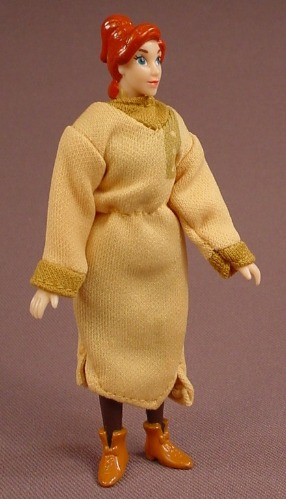 Anastasia Anya Action Figure With Cloth Clothes, 4 Inches Tall, 1997 Burger King