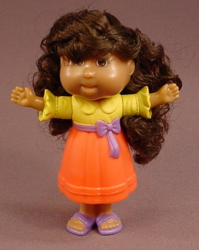 Cabbage Patch Kids Alexis Makayla Doll Figure, 3 3/4 Inches Tall, 2007 Burger King, The Head Swivels