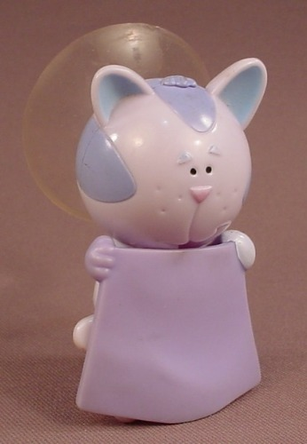 Blue's Clues Periwinkle The Cat Figure With Magic Cape & A Suction Cup On The Back, 3 1/4 Inches