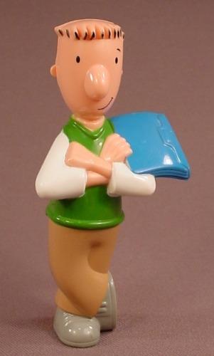 Disney Doug's First Movie Doug Figural Pen With Spring Loaded Nib, 1999 McDonalds