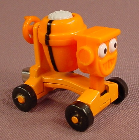 Bob The Builder Dizzy The Cement Mixer Diecast Metal & Plastic Vehicle, 2004 Learning Curve